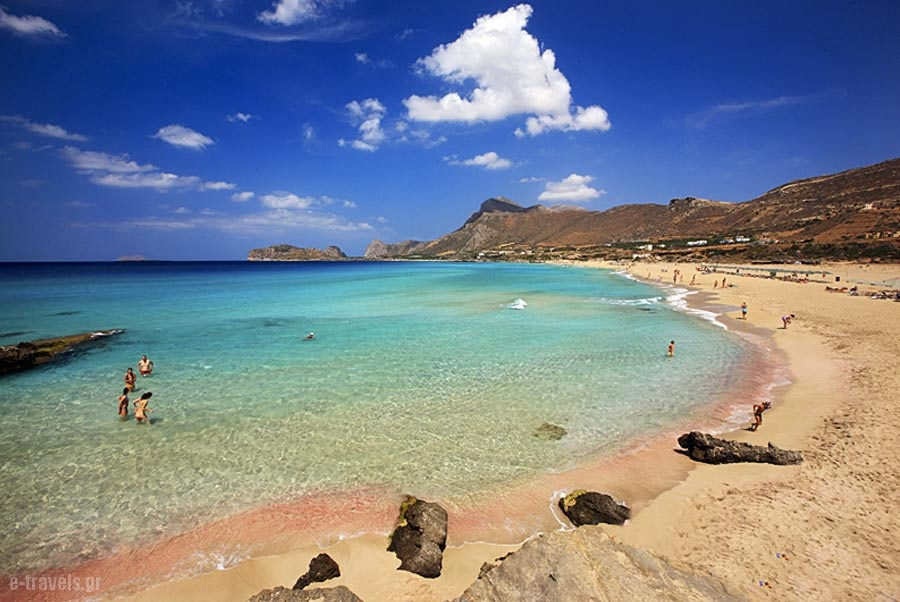 Falassarna-Crete, Tourist guide, travel catalog, Greece tourist catalogue,e-travels.gr