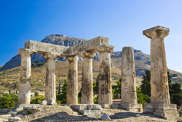Corinth,Tourist guide, travel catalog, Greece tourist catalogue